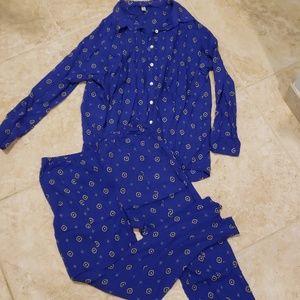 Free People Intimates & Sleepwear - Intimately Free People Shirt Up top and pant set